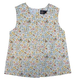 Little Cocoon Girl Floral Blouse