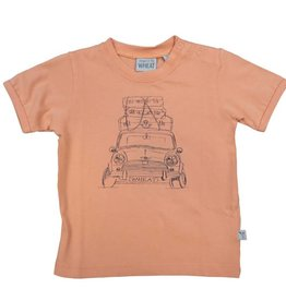 Wheat T-SHIRT SUITCASE CAR