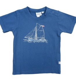 Wheat T-SHIRT FISHING BOAT
