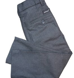 EURO CLUB COLLECTIONS FINE WOOL  EFFECT SLIM  FIT PANTS. LIGHT GREY