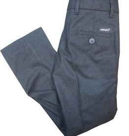 EURO CLUB COLLECTIONS FINE WOOL  EFFECT SLIM  FIT PANTS. GREY