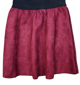 Whitlow & Hawkins SKIRT PANEL  REVERSIBLE Burg