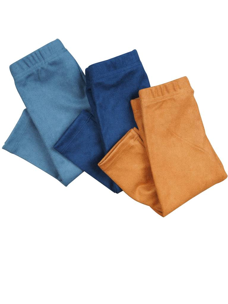 Crew Kids Suede Legging Blue