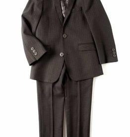 Appaman 2-PC MOD SUIT Charcoal Pencil Stripe