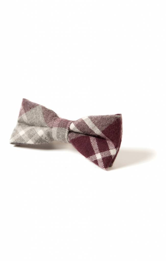 Appaman Bow Tie Amaranth Plaid