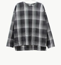MOTORETA EVAN SHIRT Black &  white  squared