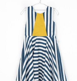 MOTORETA VEGA DRESS Blue & White stripes