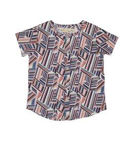 Teela Section Geometric Shirt Multi
