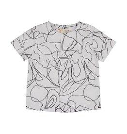 Teela Boys Flap Squiggle Shirt Black/White