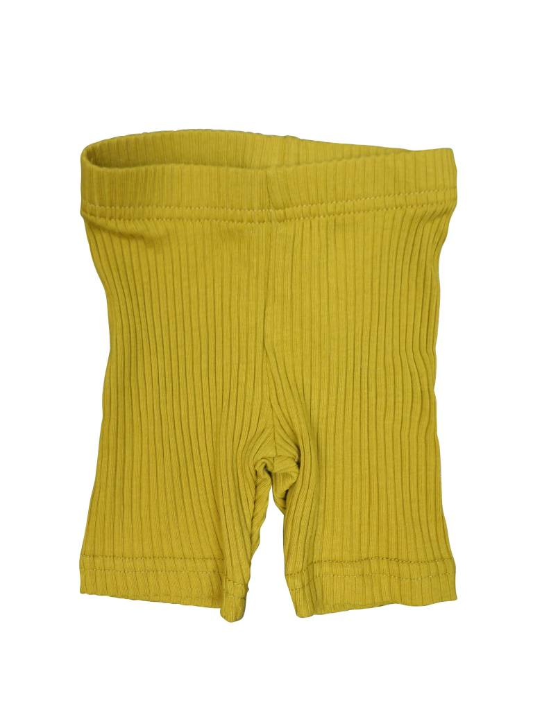 Crew Kids Ribbed Leggings Mustard