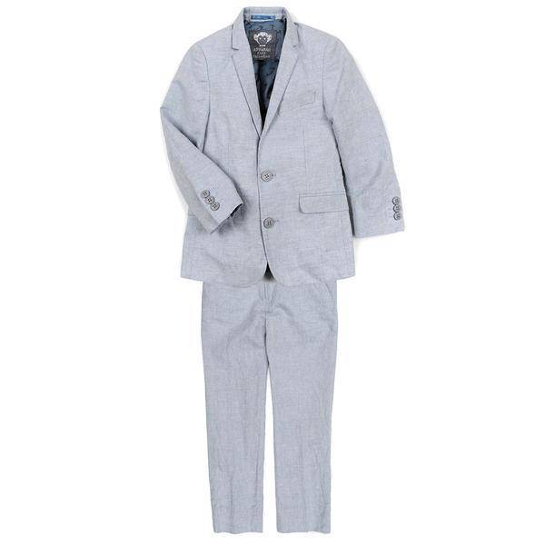 Appaman 2-PC MOD SUIT dusty blue