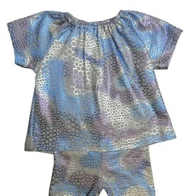 Whitlow & Hawkins MAXI METALLIC BABY GIRL SET