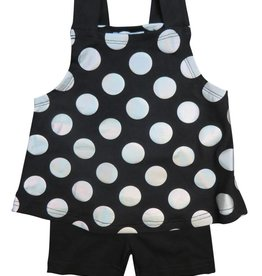 Whitlow & Hawkins VEST SLEEVELESS BABY SET BLACK