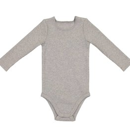 Lil leggs Light Heather Rib Onesie fw18