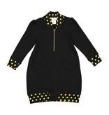 Teela CLOE Bomber Dress Black