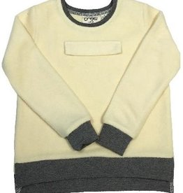 Crew Kids Fuzzy Sweat Top