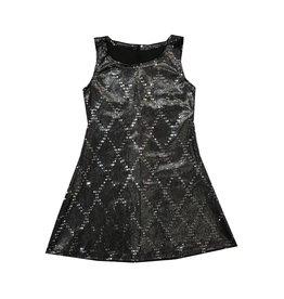 Dori Creations Sparkle Velvet Dress