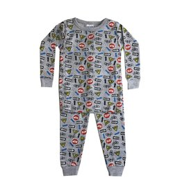 Baby Steps Street Signs 2pc Pajama Set
