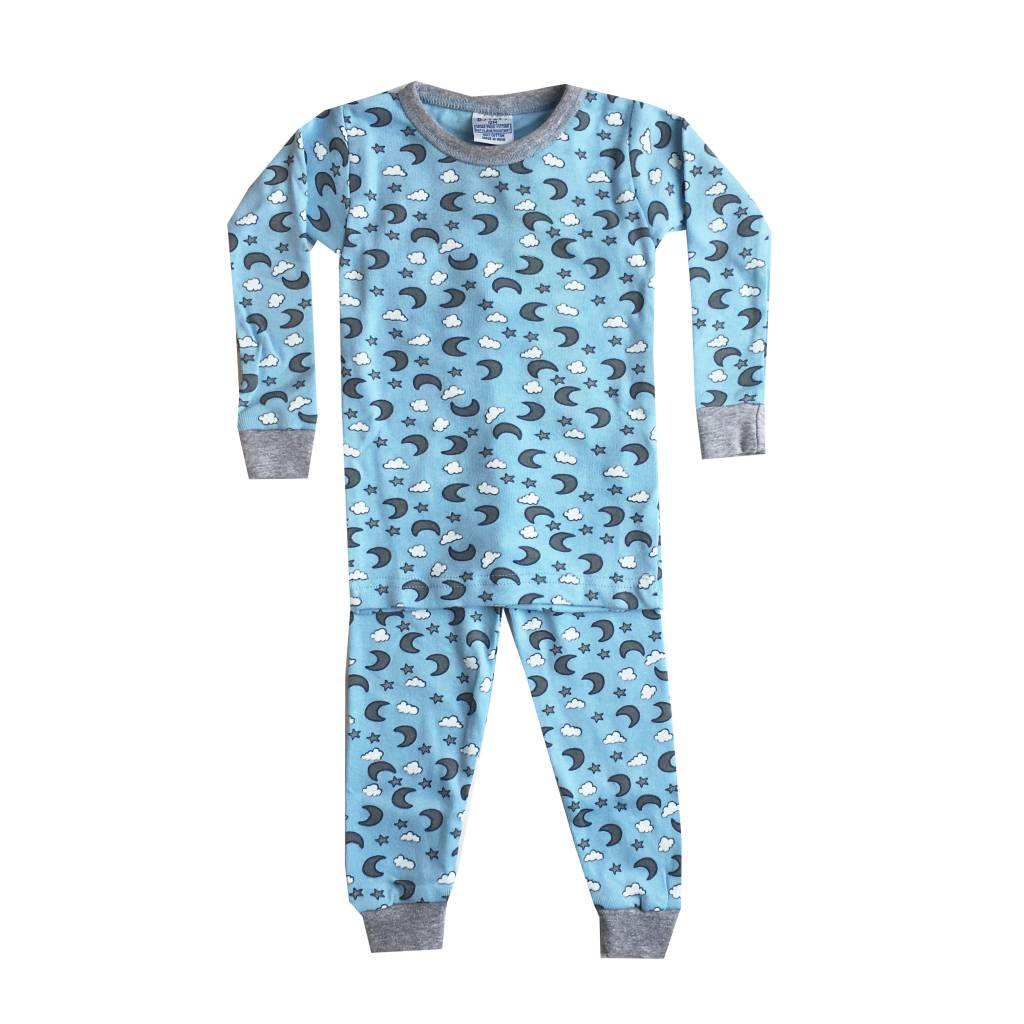 Baby Steps Blue Moons 2pc Pajama Set