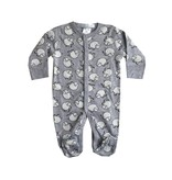 Baby Steps Grey Sheep Footie
