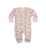 Baby Steps Pink Sheep Footie