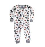 Baby Steps Football 2pc Pajama Set