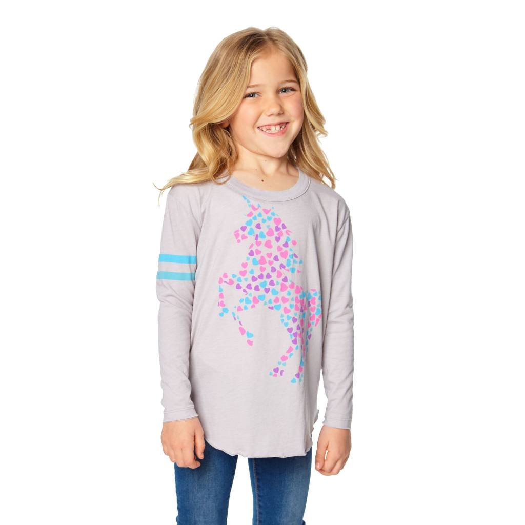 Chaser Heart Filled Unicorn Top