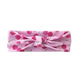 Social Butterfly Pink Cherry Headband 6-24M