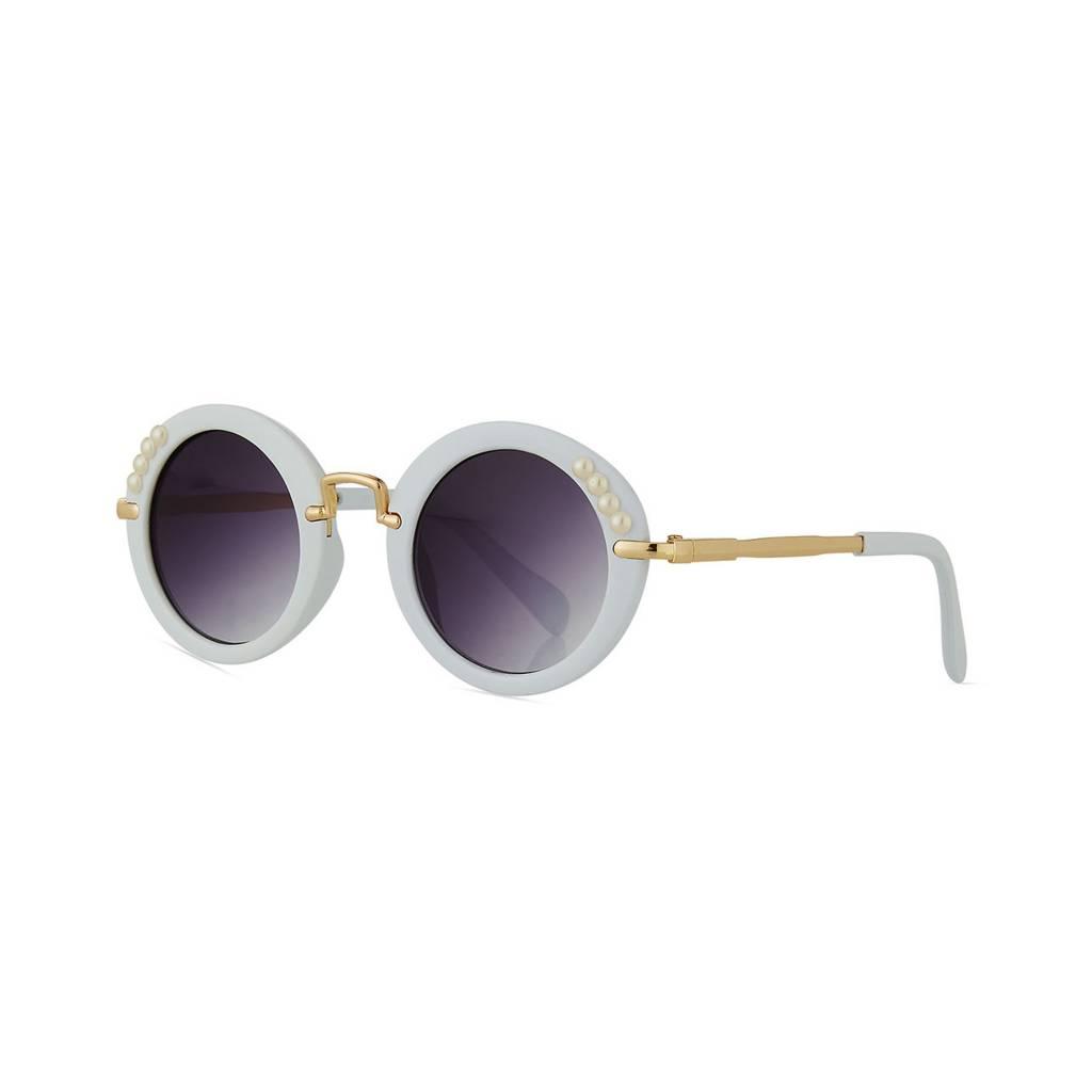 Bari Lynn Round Kids Sunglasses With Case
