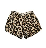 Love & Kisses Leopard Plush Shorts