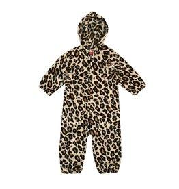 Love & Kisses Leopard Plush Jumpsuit
