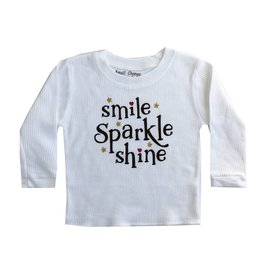 Small Change Smile Sparkle Shine Thermal Top