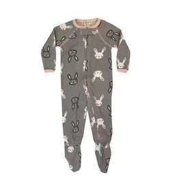 Hello Nite Bunny Thermal Footie