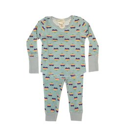 Hello Nite Rainbow Hearts Thermal Set