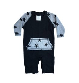 Too Sweet Star Coverall with Pocket