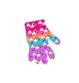Rainbow Unicorn Print Kids Gloves