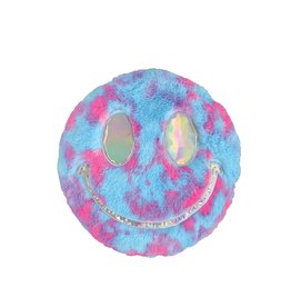 Furry Holographic Smily Pillow