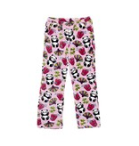 Candy Pink Panda Plush Pants