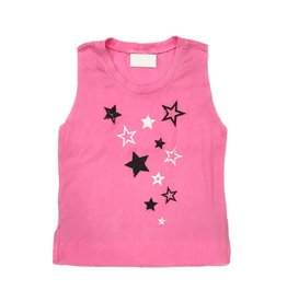 Scattered Stars Neon Muscle Tank