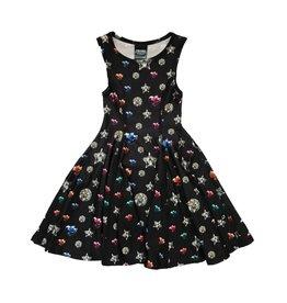 Terez Bedazzled Skater Dress