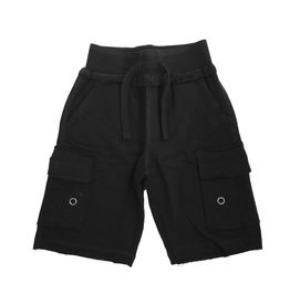 Mish Black Infant Cargo Shorts