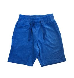 Mish Distressed Cobalt Shorts