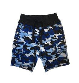 Mish Navy Camo Cargo Shorts