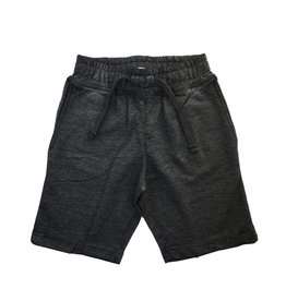 Mish Black Distressed Infant Shorts