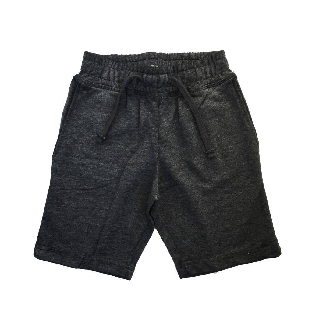 Mish Black Distressed Infant Shorts