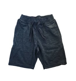 Mish Navy Distressed Infant Shorts