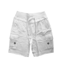 Mish White Infant Cargo Shorts