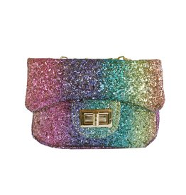 Popatu Rainbow Glitter Mini Purse