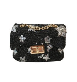 Popatu Silver Stars Mini Purse