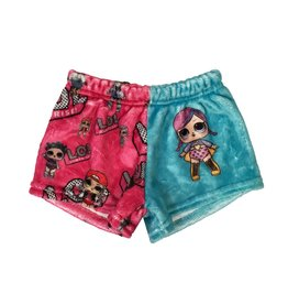 LOL Doll Pink/Turq Plush Lounge Short